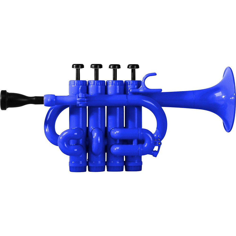 Cool Wind CPT-200 Series Plastic Bb A Piccolo Trumpet Blue by Cool Wind