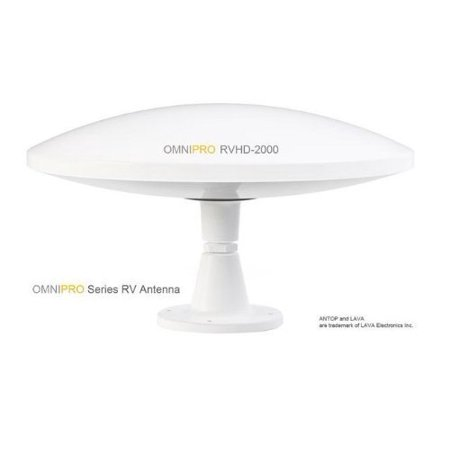 Lava RVHD-2000 RV/Marine Omni-Directional 100 Mile Outdoor Antenna - image 1 of 1