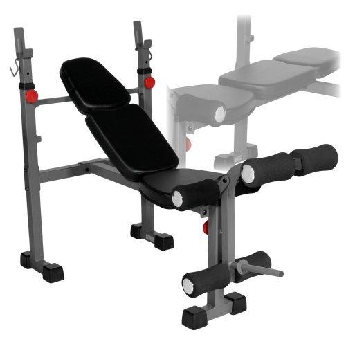 X-Mark Narrow Weight Bench with Leg Developer