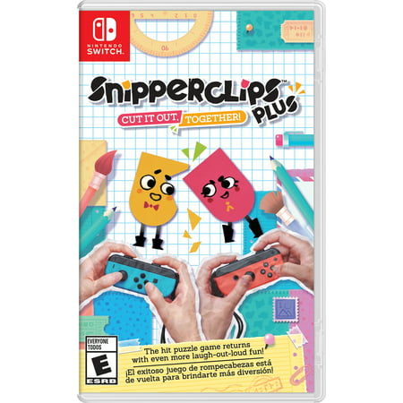 Snipperclips Plus: Cut it Out Together, Nintendo, Nintendo Switch, 045496591953 - Paparazzi Cut Out