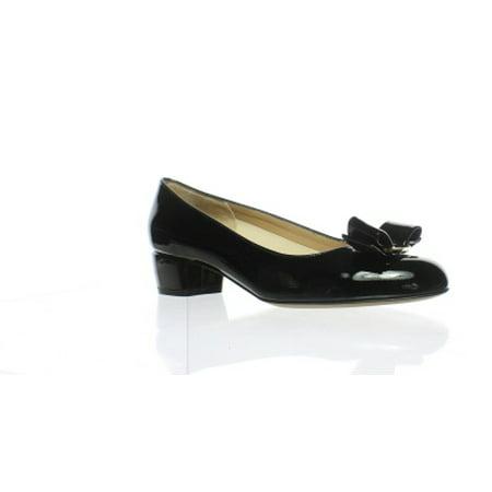 43450f46e4683 Salvatore Ferragamo - New Salvatore Ferragamo Womens Vara 1 Black Pumps  Size 4.5 - Walmart.com