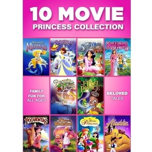10 Movie Princess Collection (Full Frame)