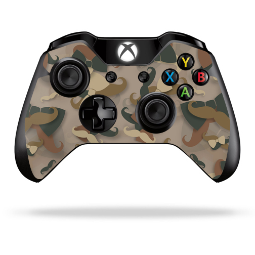 Mightyskins Protective Vinyl Skin Decal Cover for Microsoft Xbox One/ One S Controller wrap sticker skins Hipster Camo