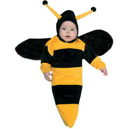 Bumble Bee Bunting Infant Halloween Costume, Size 0-6 Months - Male Bee Costume