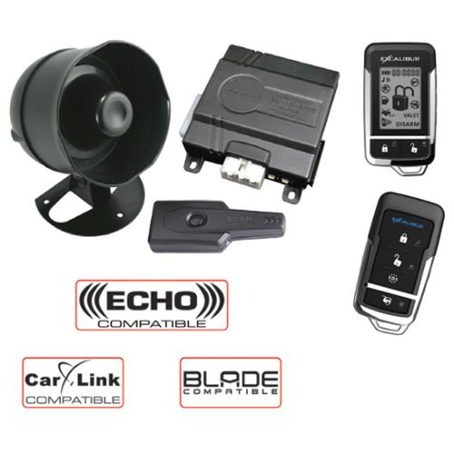 Excalibur AL1860EDPB Rs Alarm Combo Lcd 2-way