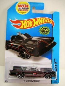 2014 Hot Wheels Hw City TV Series Batmobile by By Mattel by