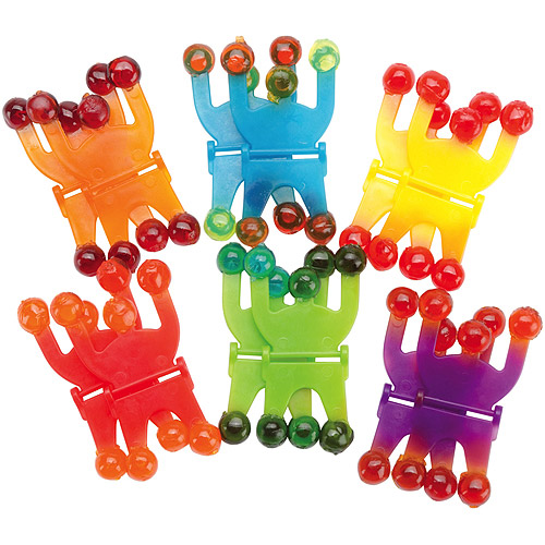 Party Favors, 12-Pack, Wall Climbers
