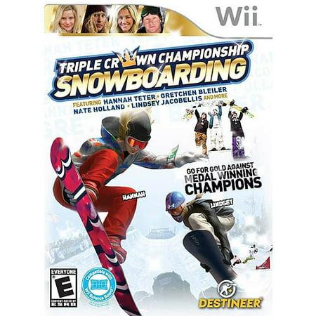 Triple Crown Snowboarding (Wii)