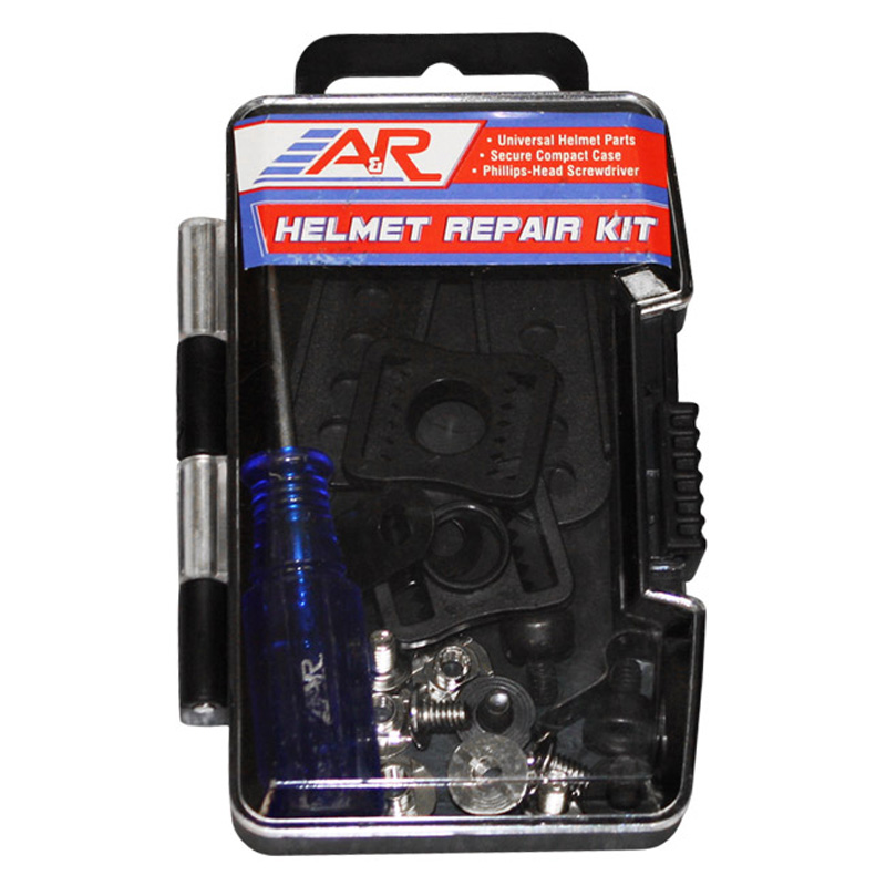 A&R Sports Universal Hockey Helmet Repair Parts Kit w/ Screws Clips Buckles Nuts