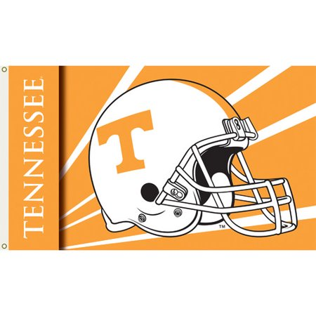Bsi Products Inc Tennessee Volunteers Flag with Grommets - Helmet Design Flag with Grommets