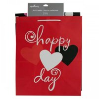 Medium Hearts & Dots Valentine Gift Bag Set (Available in a pack of 12)
