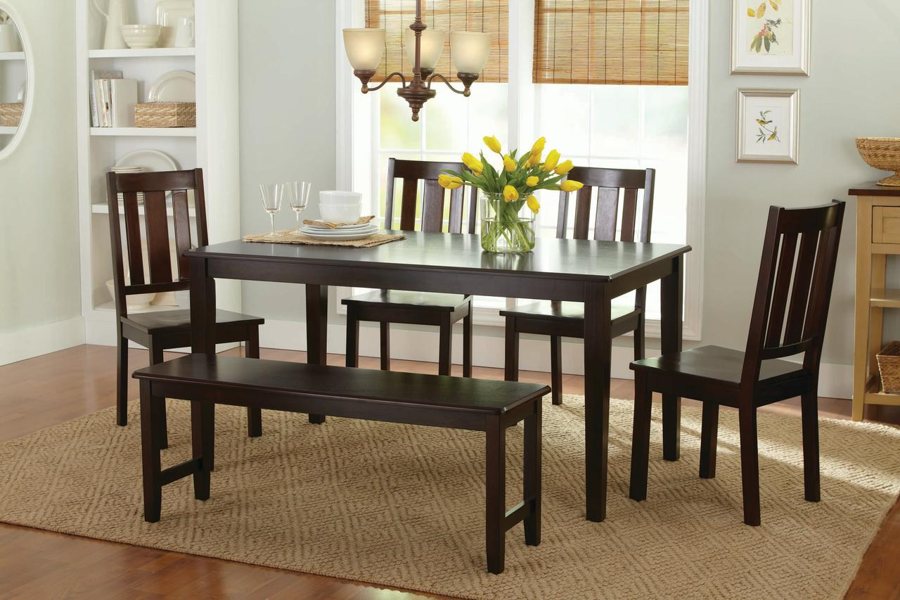 Better homes and gardens bankston dining chairs set of 2 - Better homes and gardens dining set ...