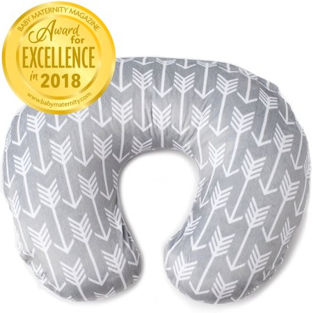 Kids N' Such Minky Nursing Pillow Cover - Best for Breastfeeding Moms - Super Soft Fabric Fits Snug On Infant Nursing Pillows to Aid Mothers While Breast Feeding - Nursing Pillow Slipcover -