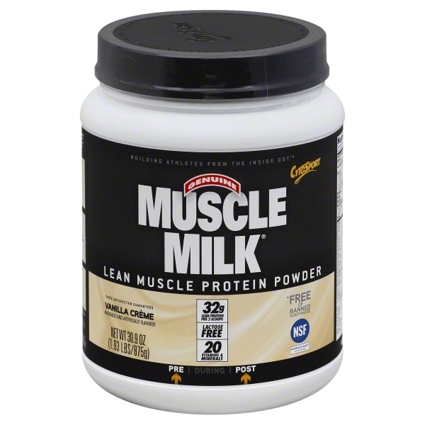 Muscle milk lean protein review