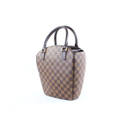 Louis Vuitton - ( Rare ) Damier Ebene Sarria Seau 4lr1110 Brown Satchel -  Walmart.com e8a8b655bf