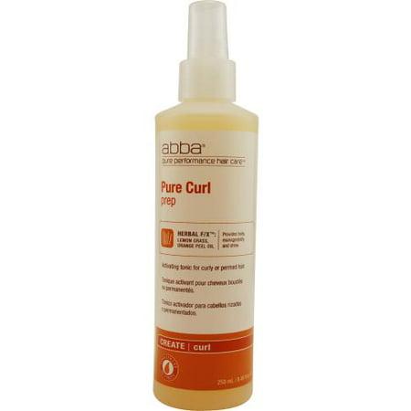 Abba Pure & Natural Hair Care 3948945 Abba By Abba Pure & Natural Hair Care Curl Prep Spray 8 Oz