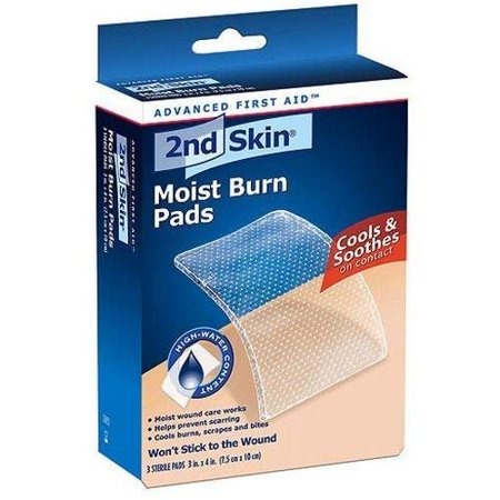 "Spenco 2Nd Skin 3"" X 4"" Moist Burn Pas 3/Bx"