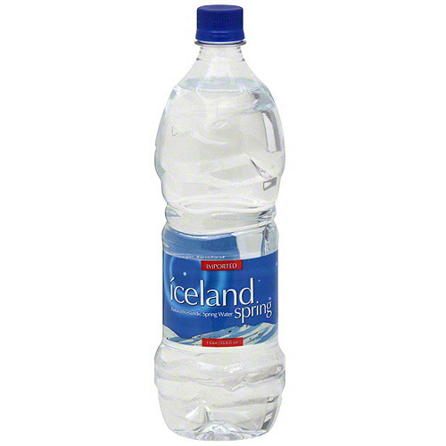 Iceland Spring Natural Spring Water, 1 l (Pack of 12) by Generic