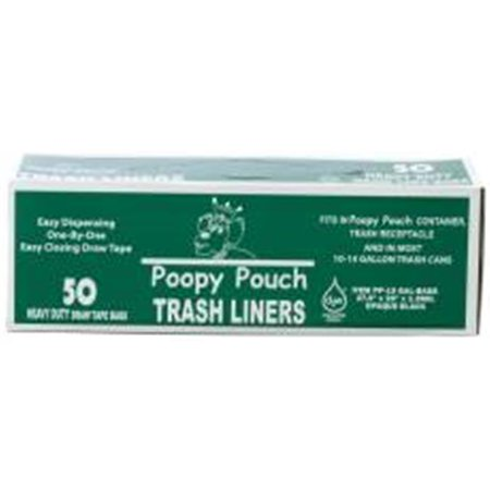 Crown Products 136807 Poopy Pouch 13 Gal Trash Bags For Pet Waste Station Receptacles - image 1 of 1
