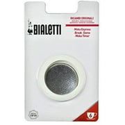 Bialetti 6961 Moka 6 Cup Replacement Filter and 3 Gaskets