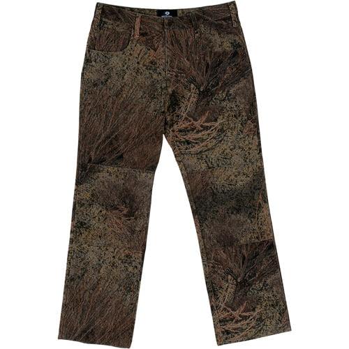Mossy Oak 5-Pocket Men's Denim Jeans, Brush