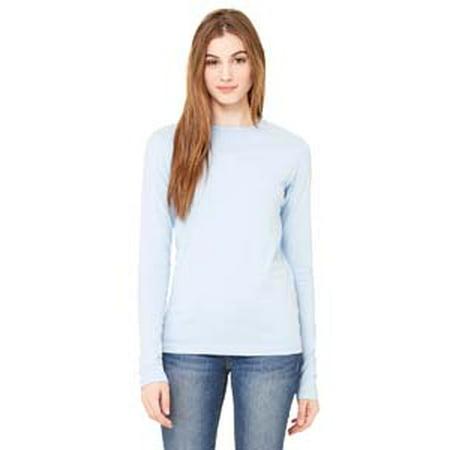 Bella + Canvas Ladies' Jersey Long-Sleeve T-Shirt B6500 Canvas Long Sleeve Jersey