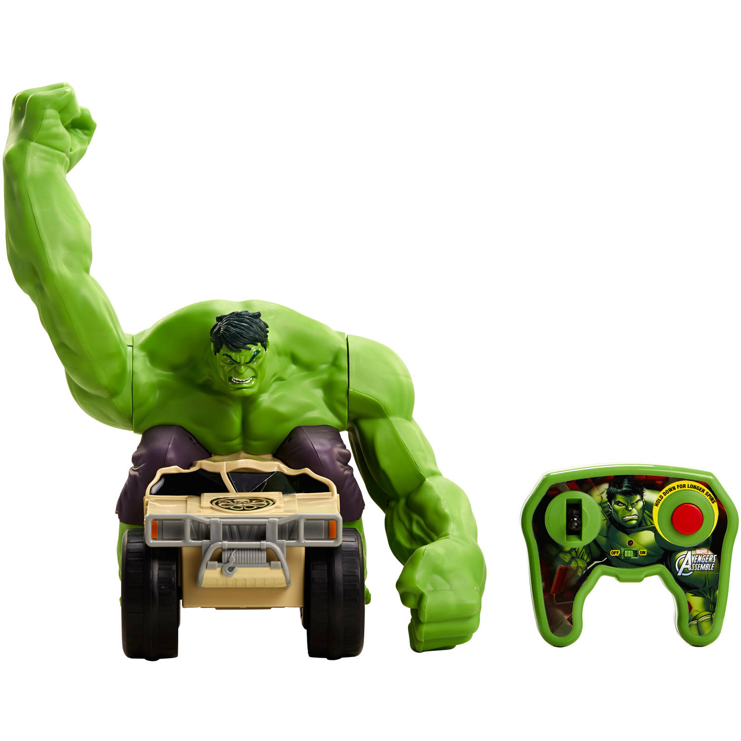 Marvel RC Hulk Smash   Walmart.com