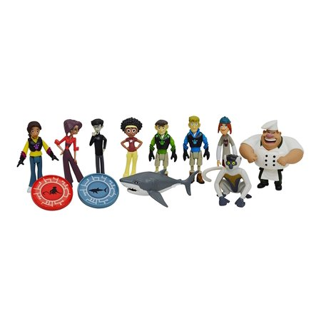 Wicked Cool Toys Wild Kratts 10-Pack Figure Gift - Kratos Mask