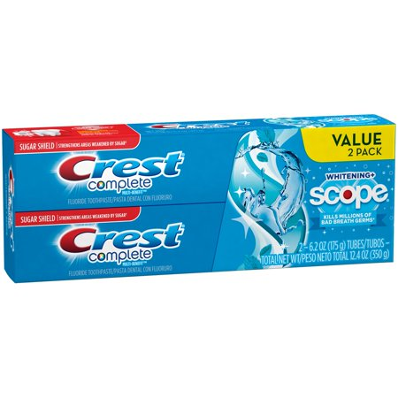 Crest  Complete Multi Benefit  Whitening   Scope Toothpaste  Choose Count
