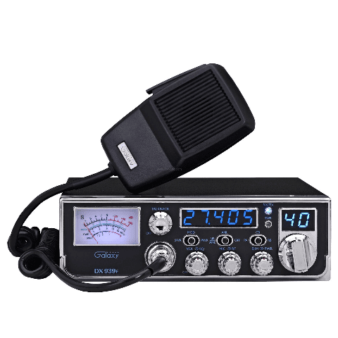Galaxy DX-939F CB Radio w Illuminated Backlit Faceplate & Frequency Counter AM by