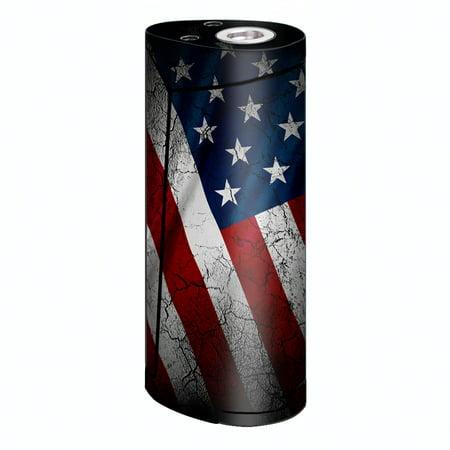 Skins Decals For Smok Priv V8 60W Vape / American Flag - Priv Distressed Oil
