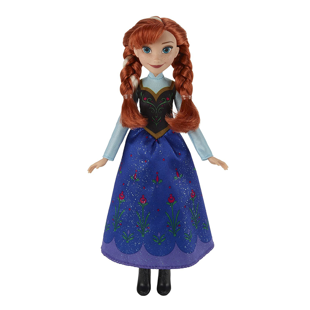 Disney Frozen Classic Anna Doll by Hasbro