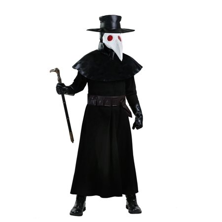 Silence Costume Doctor Who (Adult Plague Doctor Costume)