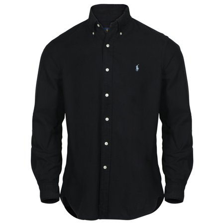 1492b5e338b Polo Ralph Lauren - Polo Ralph Lauren Men s Classic Fit Oxford Button Down  Shirt-Black - Walmart.com