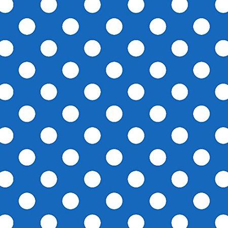 LOTTY DOTTY MATTE GIFT BAG (DARK BLUE POLKA DOTS) Blue Polka Dot Gift