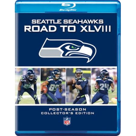 Seattle Seahawks Road To Super Bowl 48  Blu Ray