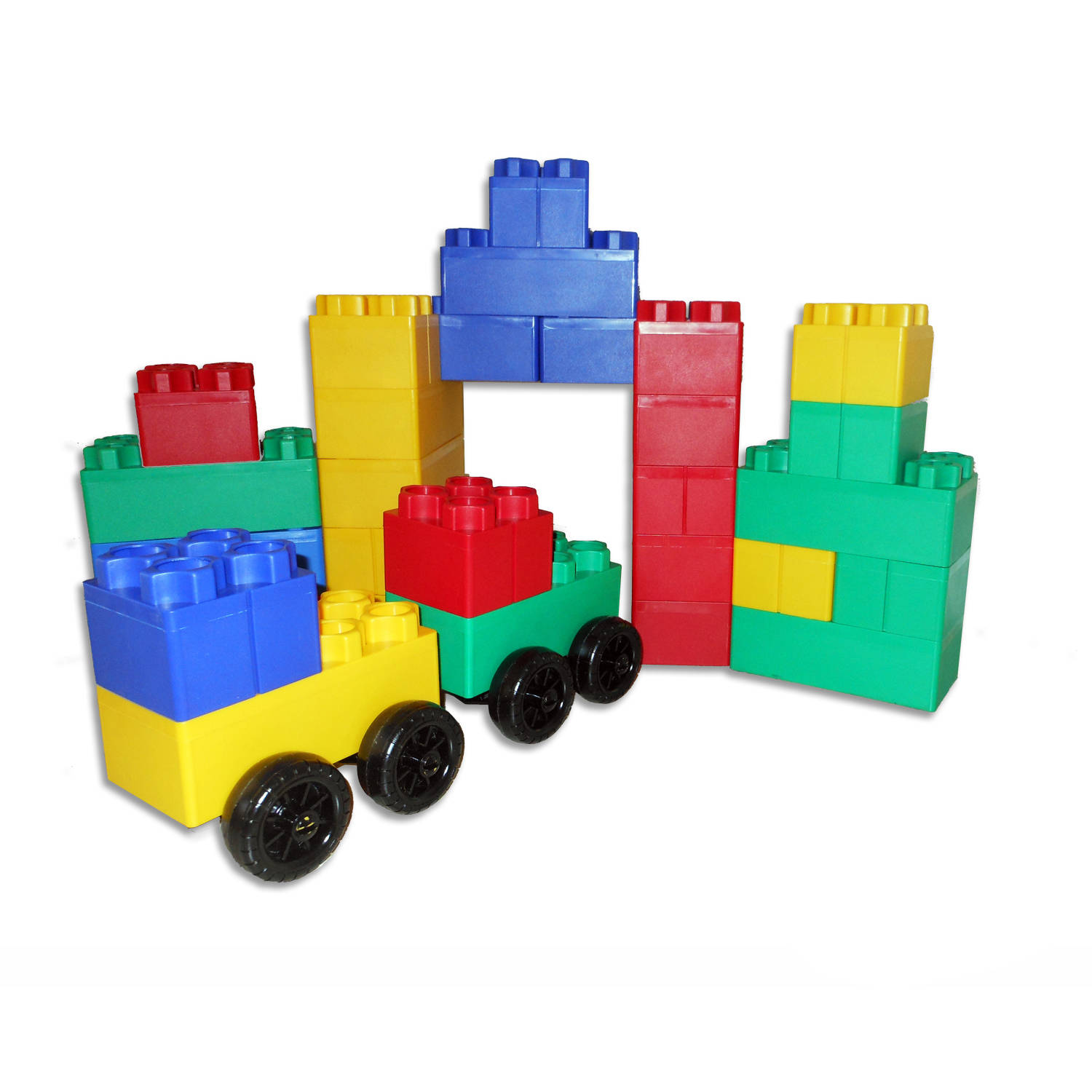 Jumbo Blocks Big City 40-Piece Play Set