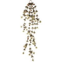 5' Wasatch Mountain Cashmere Ming Pine Hanging Garland Branches with Cones Swag