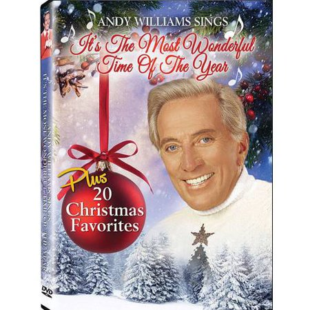 Andy Williams It's The Most Wonderful Time Of The Year Christmas Special (Music DVD)