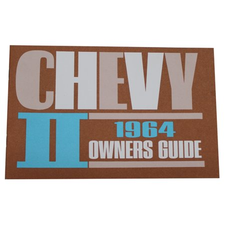1964 Ford Owners Manual - 1964 Chevy II / Nova Owners Manual