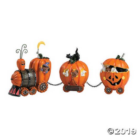 The Pumpkin Express Train Halloween Décor](Punkin Halloween)