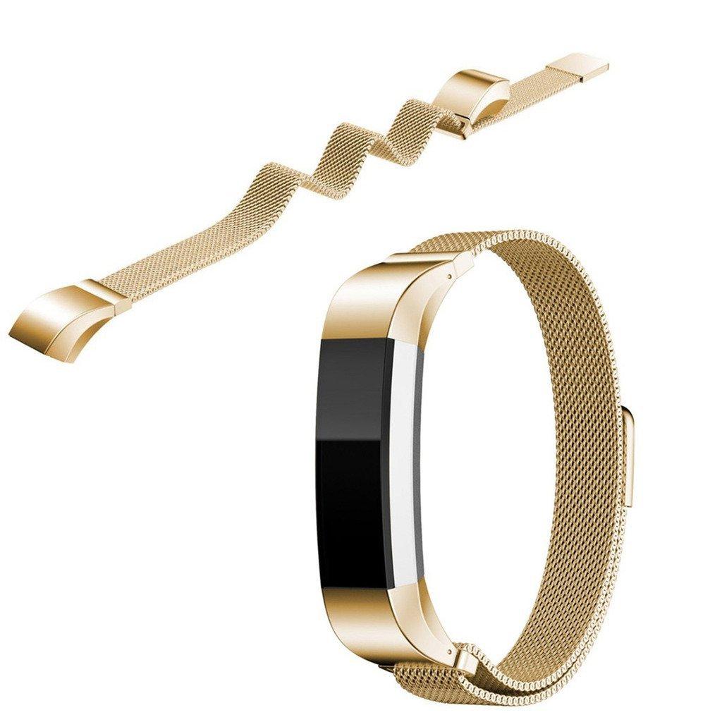 EEEKit Milanese Stainless Steel Mesh Watch Band Bracelet Strap for Fitbit Alta