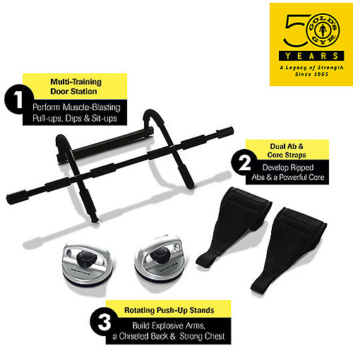 As Seen on TV Gold's Gym 3-in-1 Fitness Kit