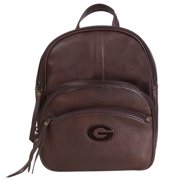 Georgia Bulldogs Tallulah Canyon Triple Zip Sling Backpack - Brown