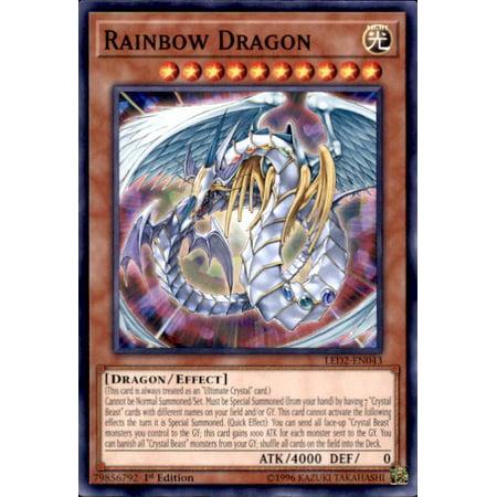 YuGiOh Legendary Duelists: Ancient Millennium Rainbow Dragon LED2-EN043