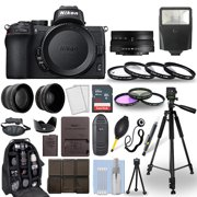 Nikon Z50 Mirrorless Camera Body + 16-50mm Z VR Lens + 30 Piece Accessory Bundle