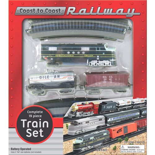 Railway Train Set by John N Hansen