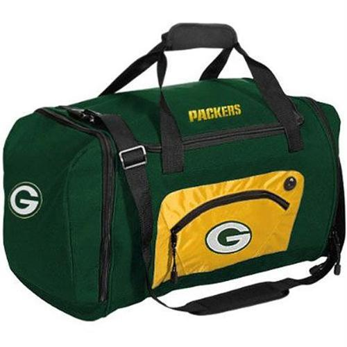 Road Block Duffle Bag NFL Green - Green Bay Packers Green Bay Packers C1FBGBARBDG