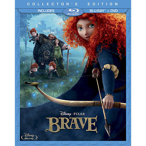 BRAVE (BLU-RAY/2D/DVD/3 DISC COMBO/WS)