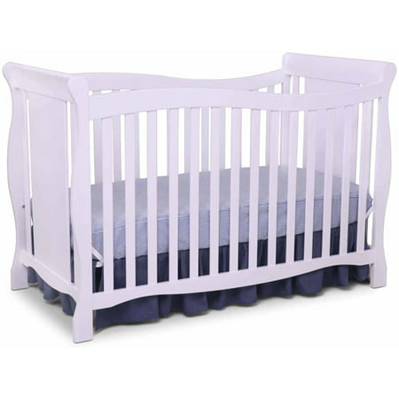 Delta Children Brookside 4-in-1 Convertible Crib, White - Delta Children Brookside 4-in-1 Convertible Crib, White - Walmart.com